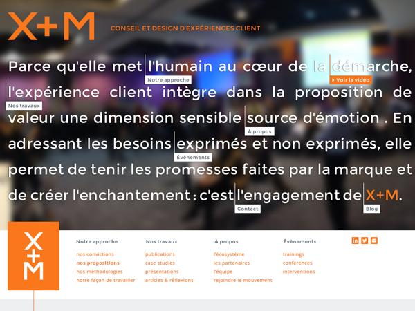 xm marketing theme